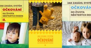 Jak zasáhl systém očkování do života některých rodin - brožury příběhů nežádoucích příběhů očkování