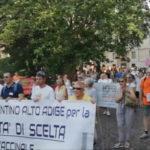 Padova - další italská demonstrace proti povinnému očkování - 9 červen 2018